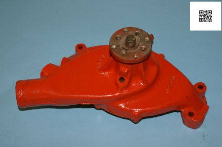 1971-1972 Corvette C3 Water Pump Red GM 3992077 Dated Sept '71, Used Good
